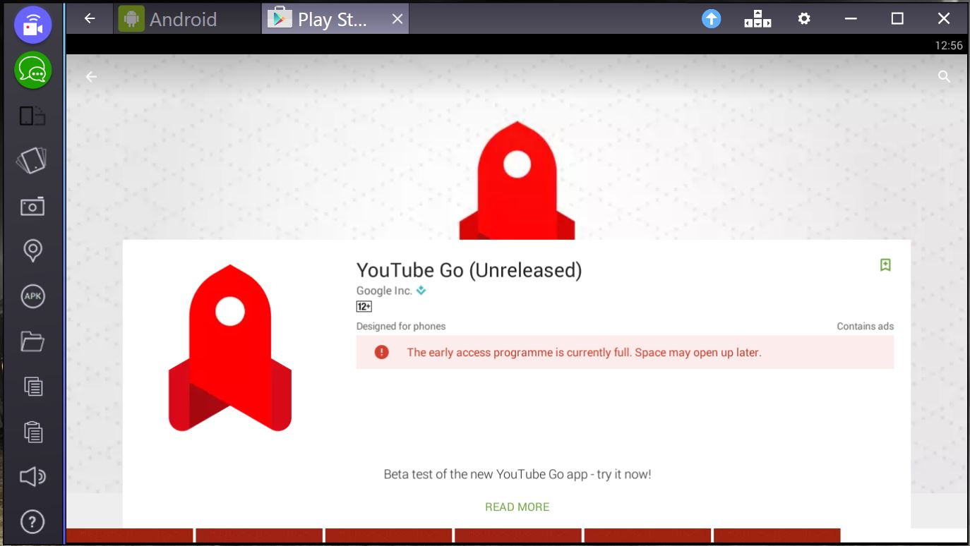 youtube go download for pc
